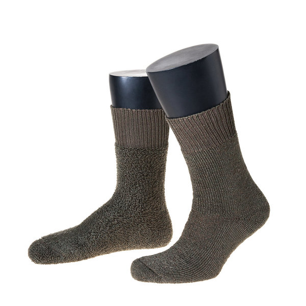 Thermo-Socken, Made in Germany, Vollplüsch, Jagd und Outdoorsocken im 3er Pack